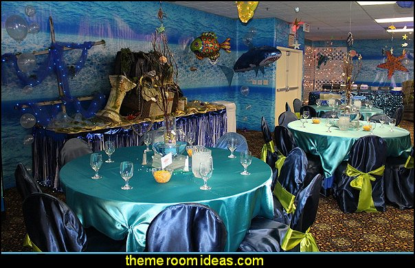 Under The Sea Party Decorating props