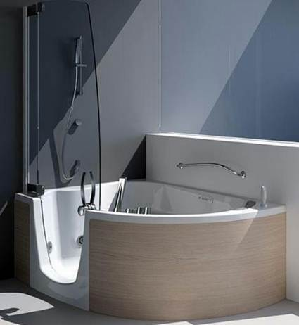 Bathtubs And Showers For Small Bathrooms 1