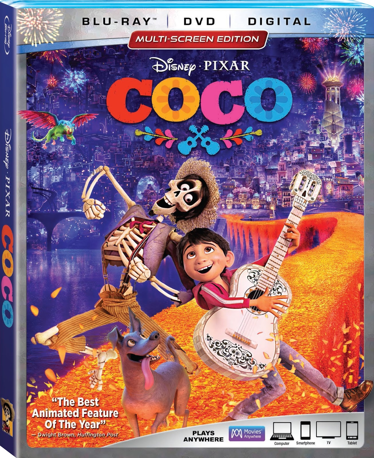 Coco Blu-ray Box Art