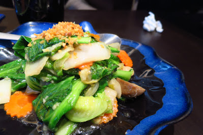 Sawadee Thai, stir fried vegetables