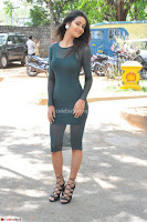 Simran Choudhary Cute beauty with dimples in transparent Green Tight Short Dress ~  Exclusive 028.jpg