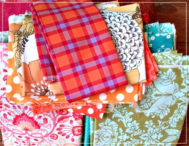 Fabric, stash pull, Puppilalla, colourway, colorway