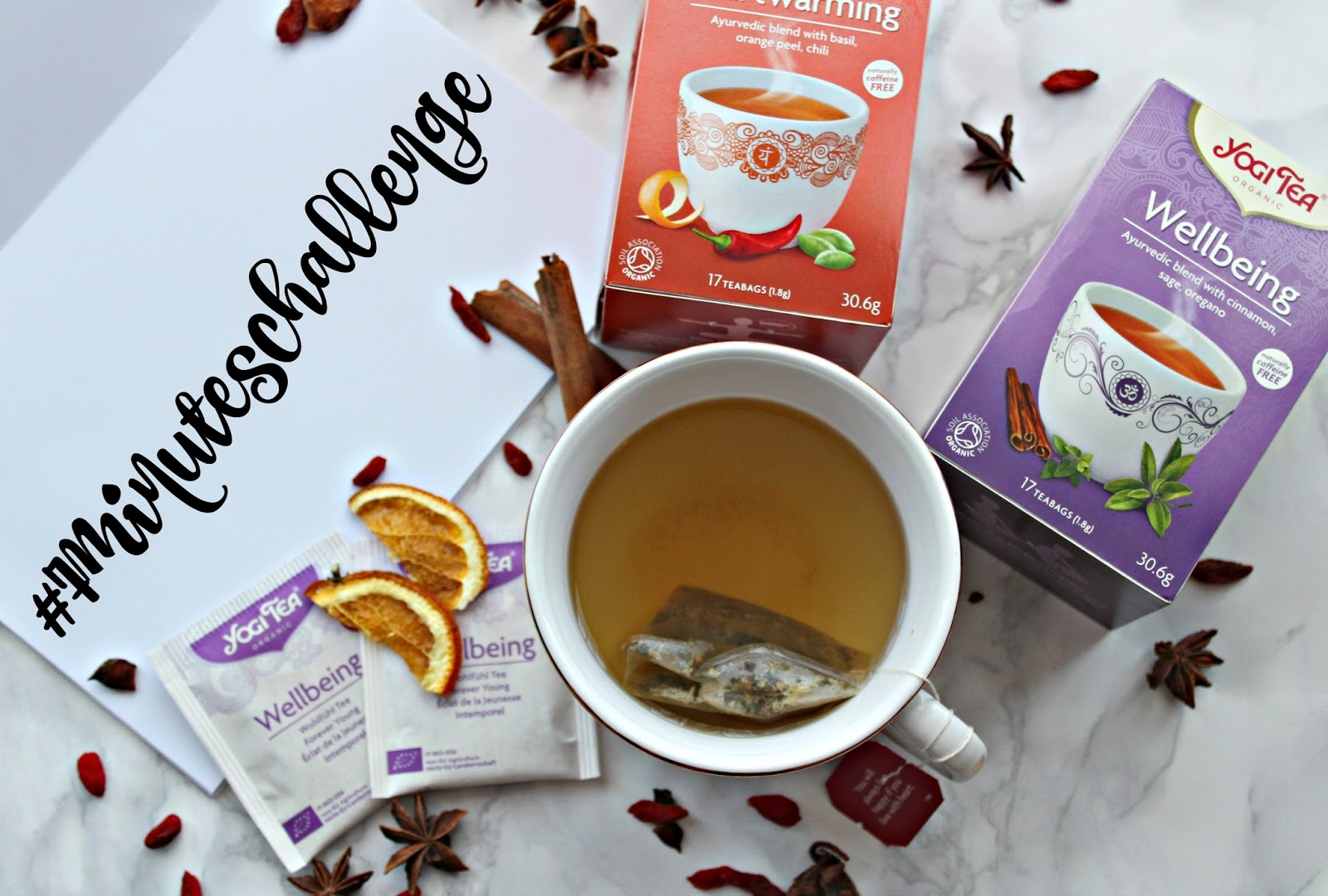 The Yogi Tea #7Minuteschallenge (Sponsored)