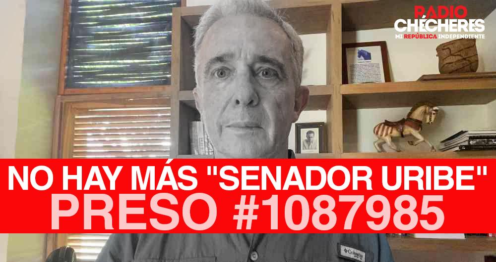 #ElFinalDeUribe ?: #UribePresoEs suspendido, no podrá seguir como senador, Corte Suprema