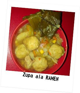 Na kolację: pomysł na obiad - zupa ala ramen