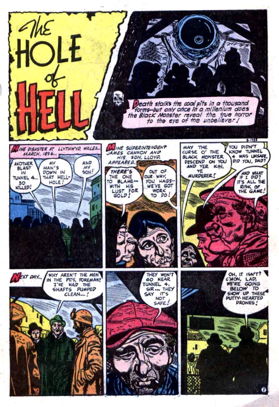 The Unseen v1 #13 standard comic book page art by Alex Toth