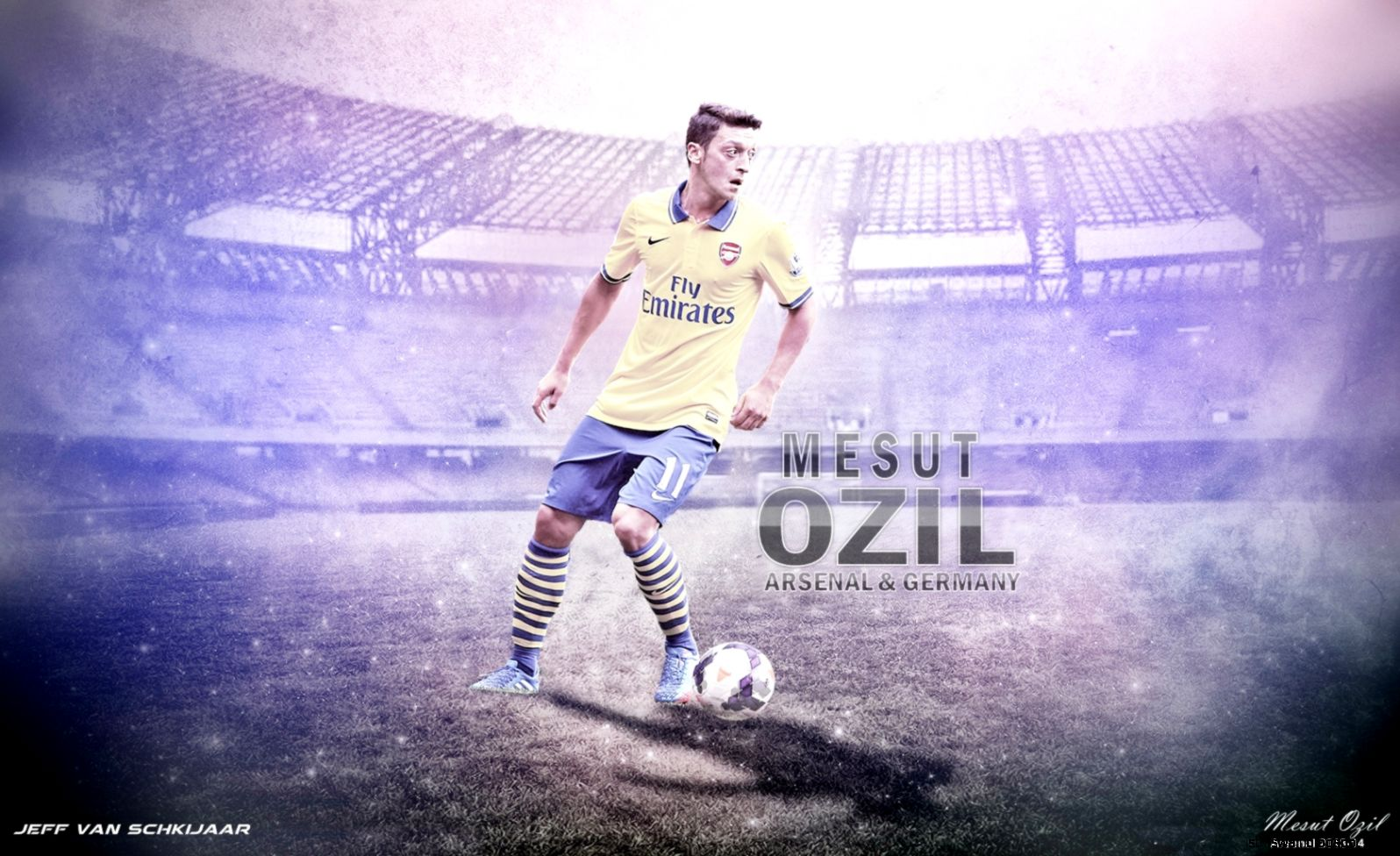 Mesut Ozil Arsenal Wallpaper