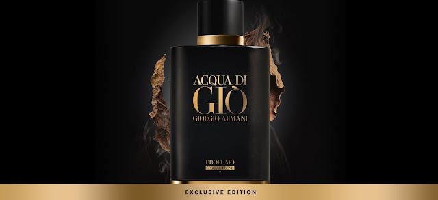 Reklama perfum Armani Acqua di Gio Profumo Special Blend
