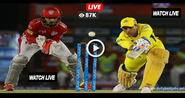 CSK vs KXIP Live Streaming Cricket Scores Online IPL 2018