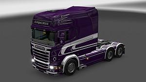 Scania RJL Purple skin by G48