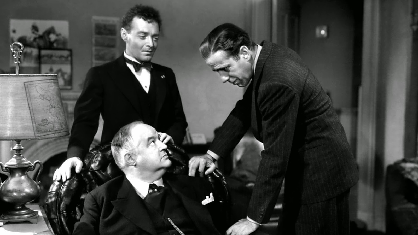 Image result for sydney greenstreet as detective growing orchids