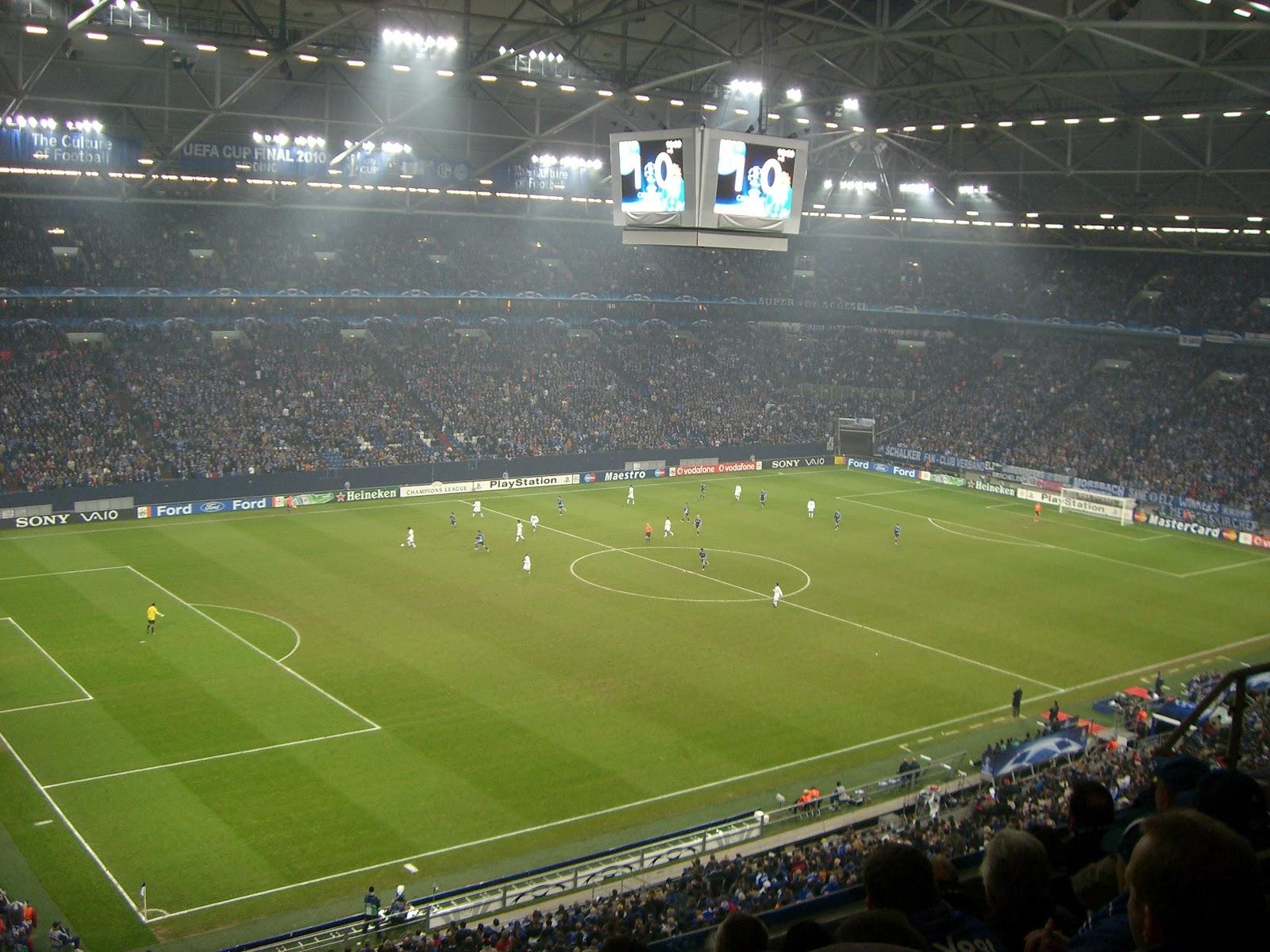 Стадион шальке 04 в 2000- 2001