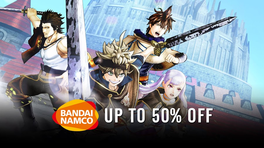 black clover quartet knights sale humble bundle