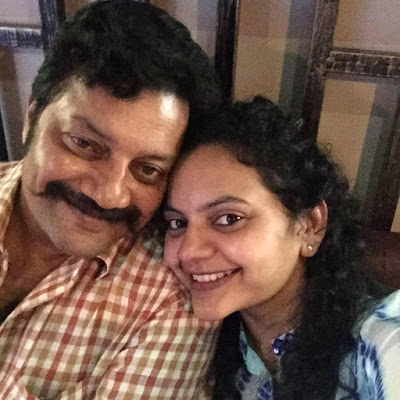 Saikumar with daughter Jyothirmayi