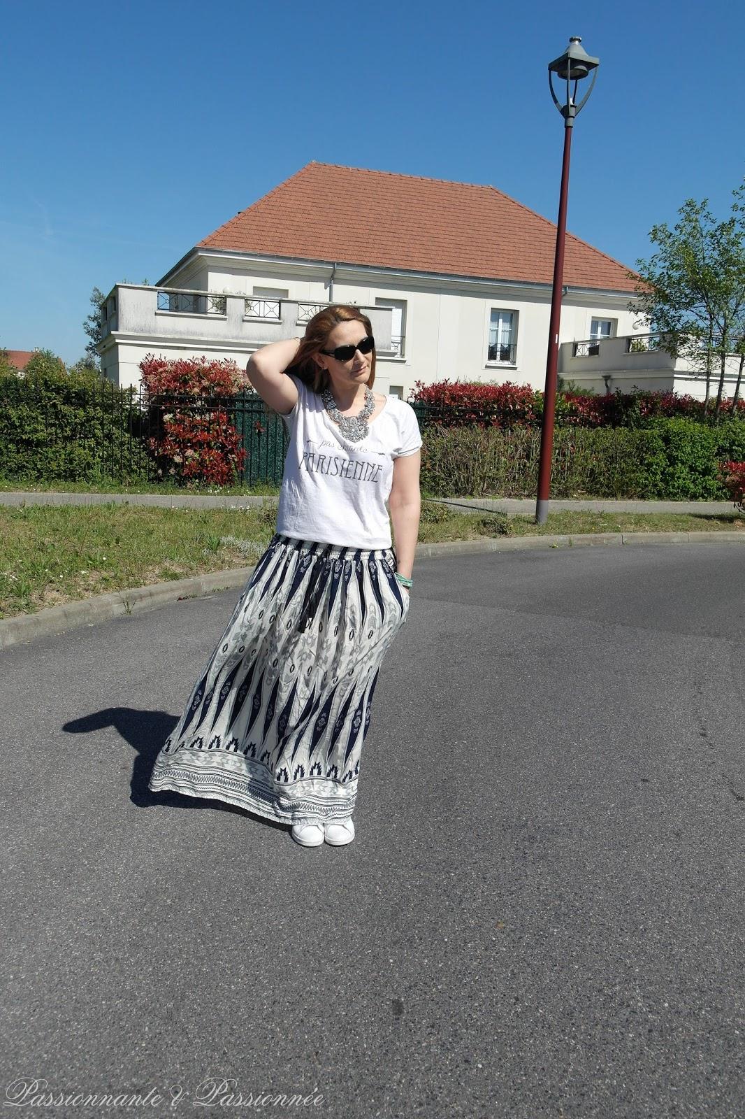 casual en jupe longue