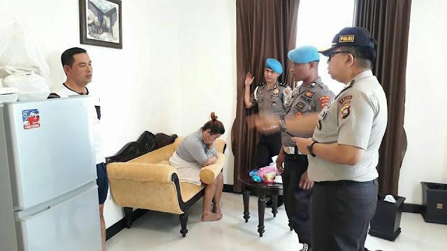 penggerebekan anggota polisi di hotel same oleh propam