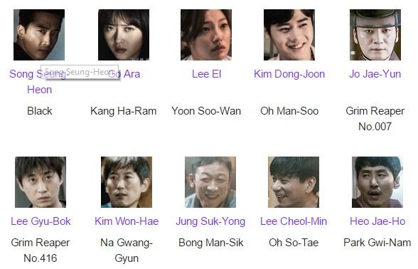 Pemain Pemeran Drama Korea Black Episode 1-Tamat