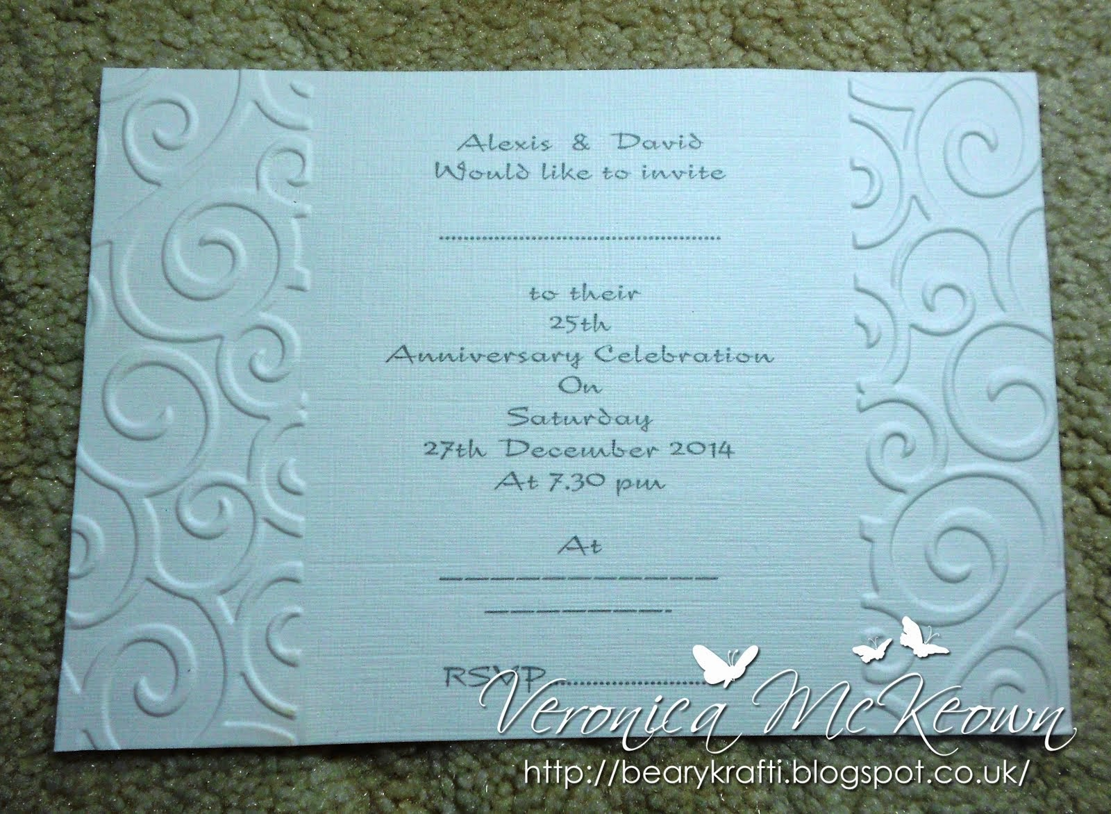WEDDING / ANNIVERSARY INVITATIONS