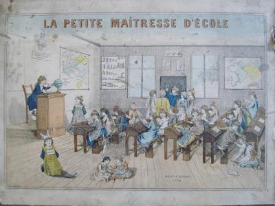 Malette jeu « La Petite Maîtresse d'Ecole, édition 1900 (collection « jeuxanciensdecollection »)