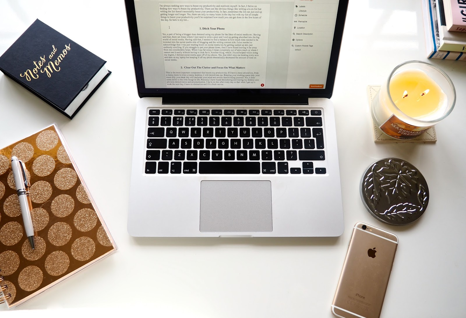 Ten Simple Ways to Boost Productivity