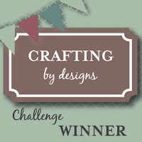 Excited to have been randomly chosen at Crafting by Designs