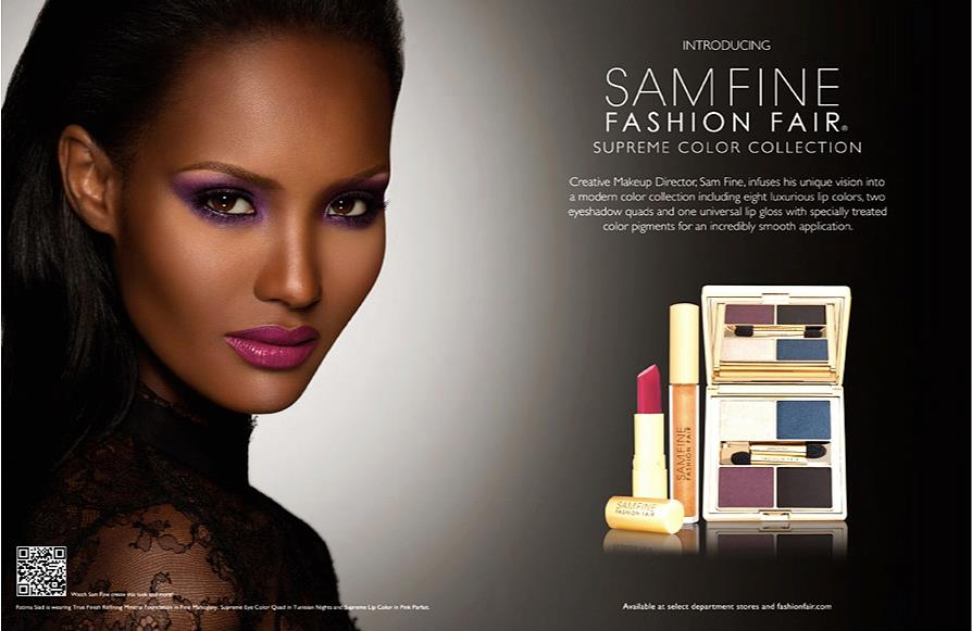 Fashion Fair Beauty Products: Beauty Is My Business: Sam Fine For Fashion Fair