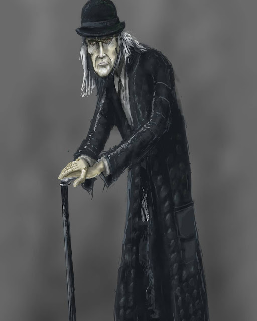 bagman creech from the fever crumb novel