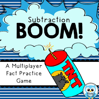 https://www.teacherspayteachers.com/Product/BOOM-Subtraction-Fact-Practice-Game-367456