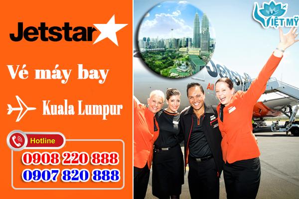 Vé máy bay đi Kuala Lumpur hãng Jetstar