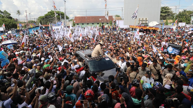 Kampanye Prabowo Dituding Massa Nasi Bungkus, Jubir BPN Minta Relawan Jokowi Perhatikan Videonya Baik-baik