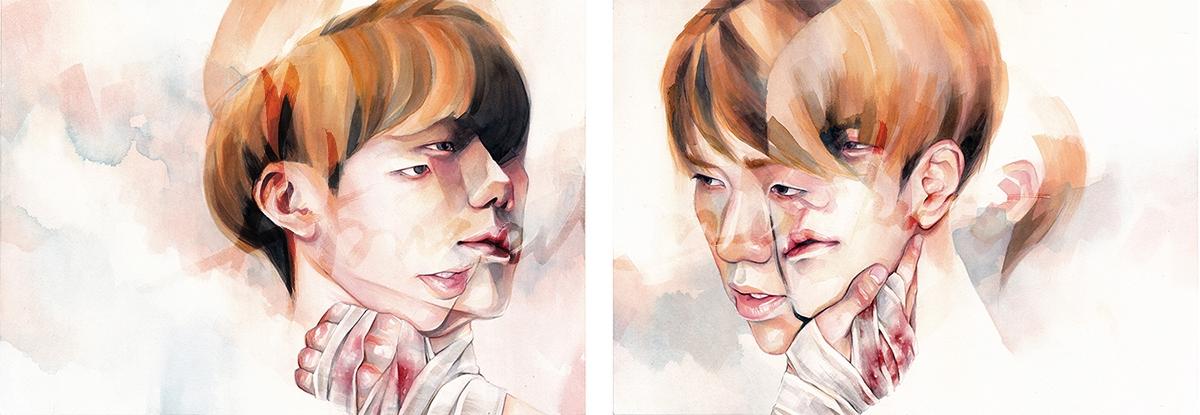 06-Broken-Mirror-Dinan-Hadyan-Cathartic-Paintings-for-Self-Help-www-designstack-co