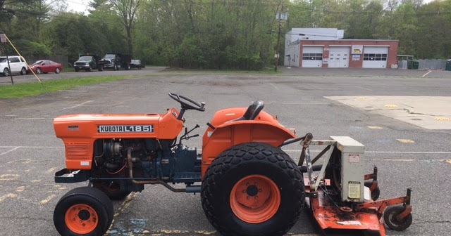 Kubota L185 Parts : Newsearch equipment salvage kubota l with woods rm