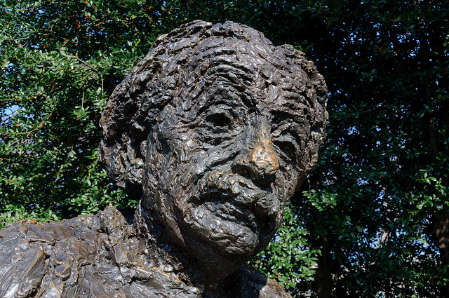 Berks Robert 1922-2011 | American sculptor | Albert Einstein Memorial | Washington DC 1979