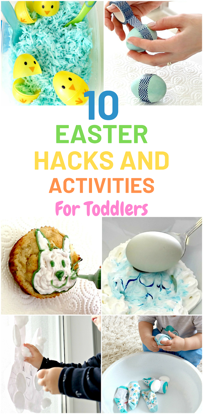 10 easter hacks and activities for toddlers