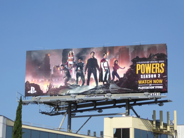 Powers season 2 billboard