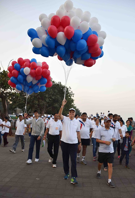JM Financial Foundation hosts annual Walkathon in Mumbai aims to combine Charity with Fitness