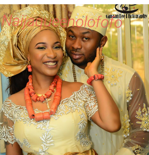 Pictures of tonto dikeh traditional wedding.