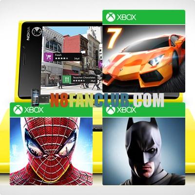 HD Games for Nokia Lumia Windows Phone 8 Smartphones