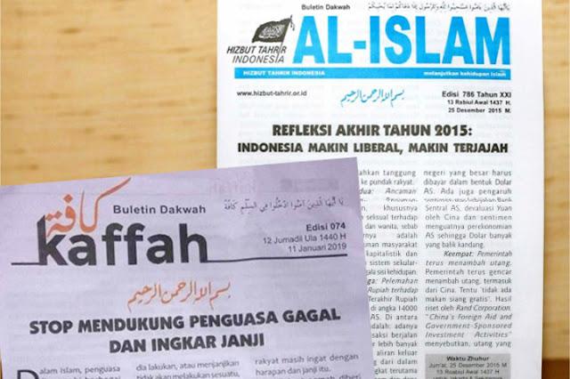 Buletin Ini Serukan Islam Kaffah Namun dengan Narasi Kebencian