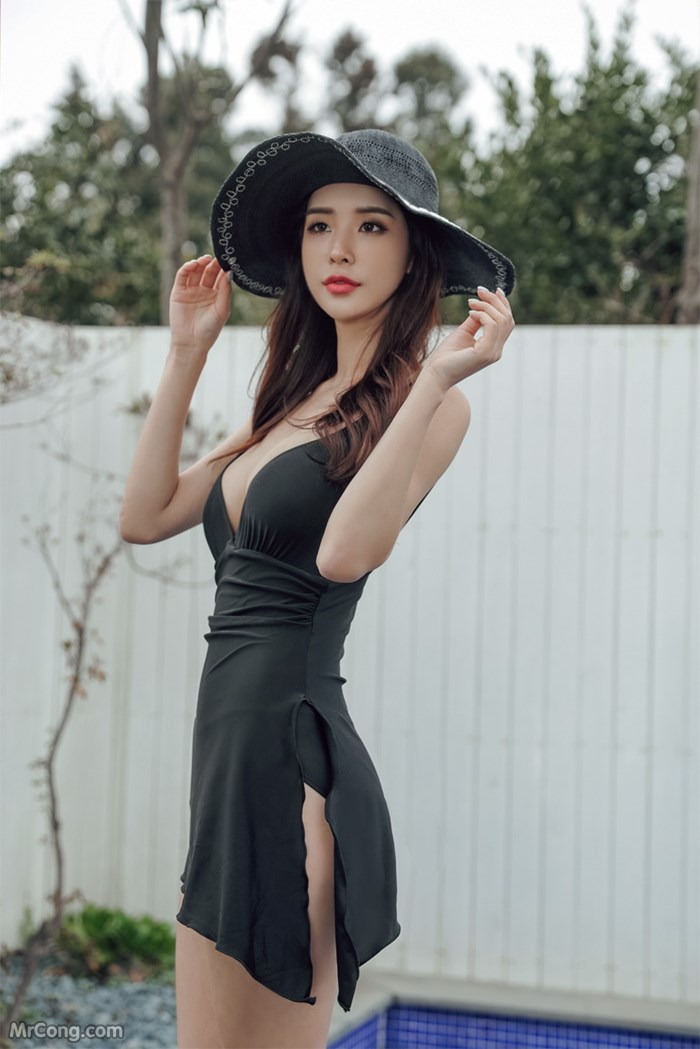 Người đẹp Park Da Hyun sexy trong bộ ảnh thời trang nội y