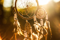 Image of dream catcher to represent a spiritual blueprint for life