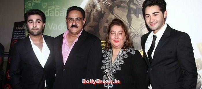 Rajiv Kapoor, Aadar Jain, Reema Kapoor, Armaan Jain