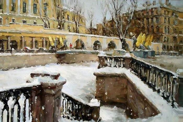 Городской пейзаж. Азат Галимов