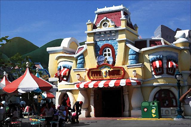 Toon Town, Disneyland, California.