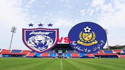 Live Streaming JDT FC vs Pahang Piala Malaysia 29.9.2018