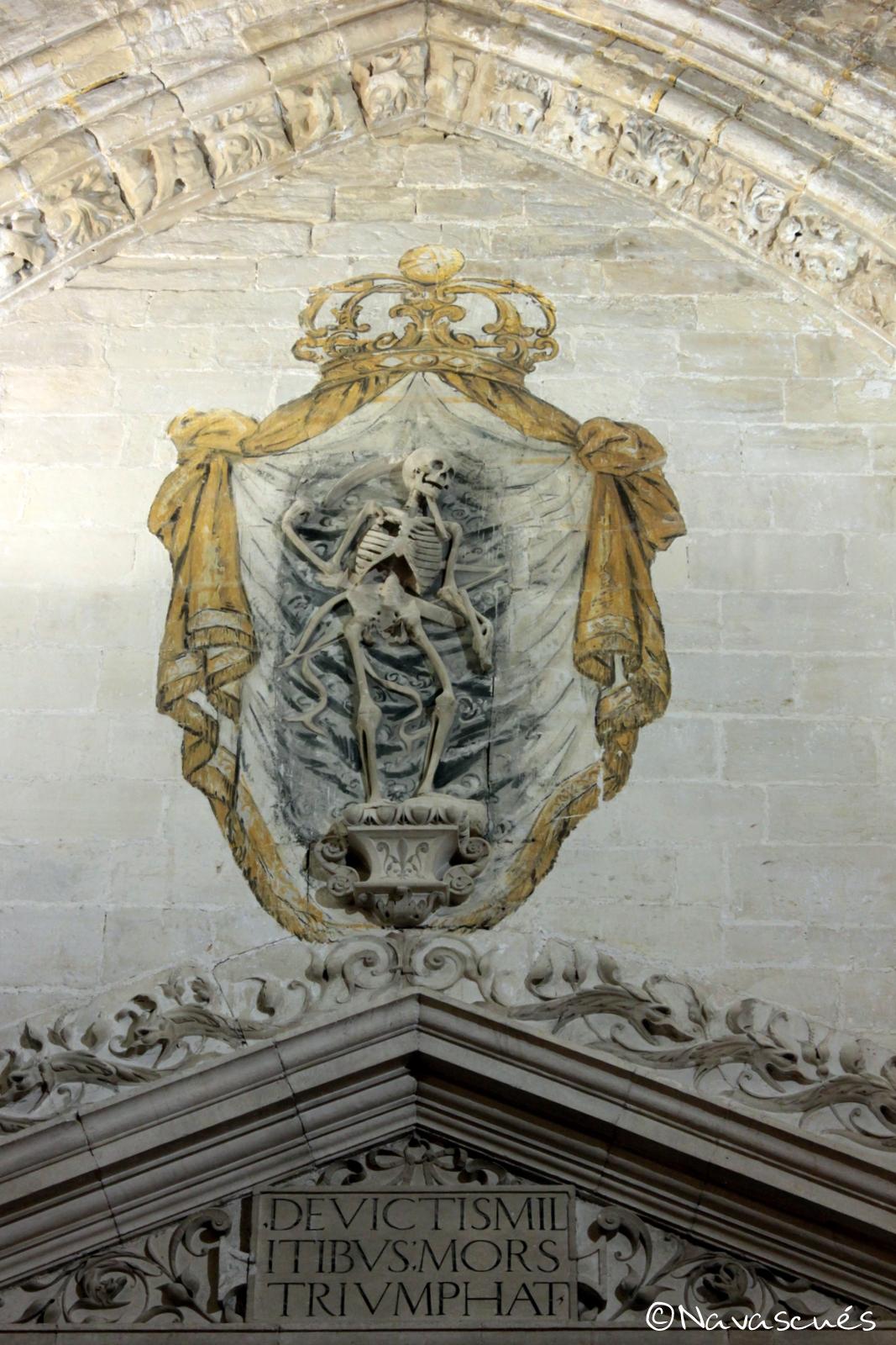 Detalle superior de la Capilla de los Caballeros