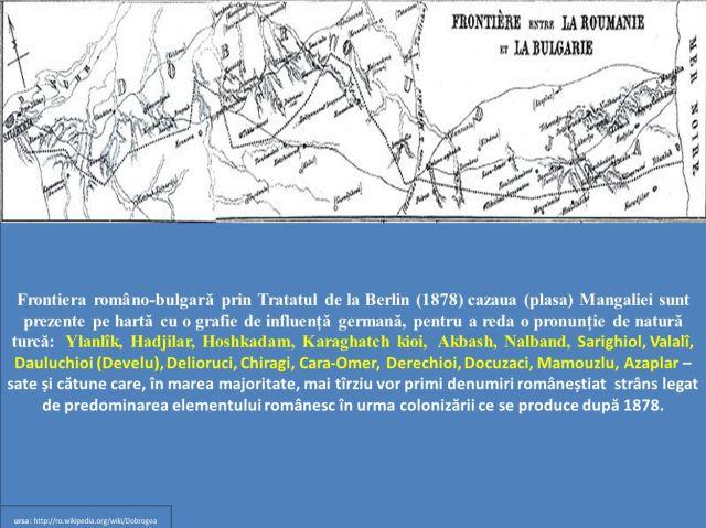 Frontiera romano-bulgara - Tratatul de la Berlin 1878