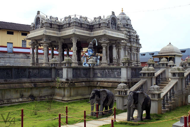 One of the Newly built Temples at Sringeri
