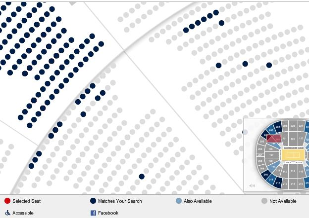 Key Arena Seating Chart With Seat Numbers - Best Seat 2018
