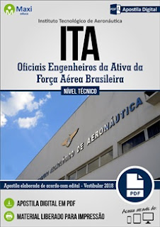 Apostila concurso ITA 2017 - Instituto Tecnológico da Aeronáutica